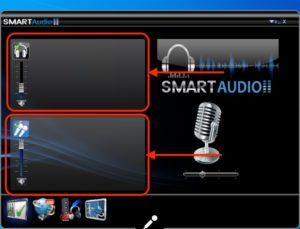 Smart Audio マイクオフ