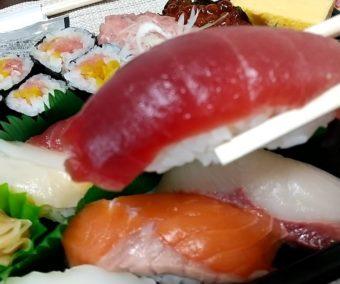 【日記】回転寿司のお店「銚子丸」でお寿司をテイクアウトする