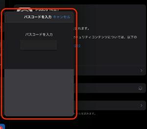 iPadOS 14.0.1 パスコード