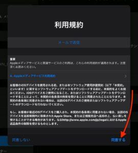 iPadOS 14.0.1 利用規約