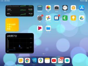 iPad Touch ID認証追加 ロック解除