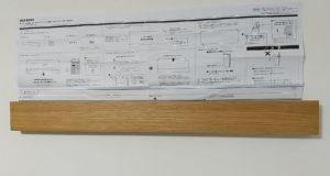 無印良品 壁に付ける長押 セット