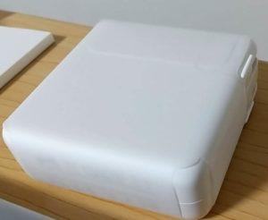 MacBook Pro 包装フィルムはがす 電源アダプター