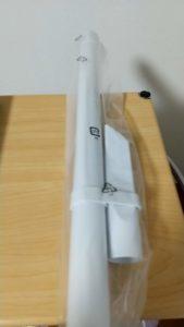 マキタのクリーナーCL107FDSHW ストレートパイプ