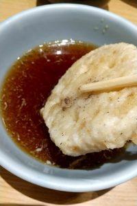 天喜代 天ぷらそば レンコン天