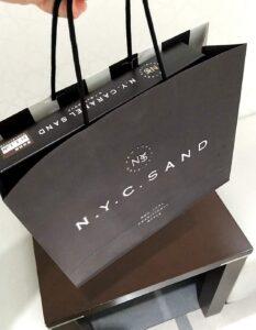 N.Y.C.SAND(ニューヨークキャラメルサンド) 袋