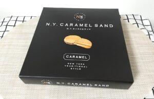 N.Y.C.SAND(ニューヨークキャラメルサンド) 箱