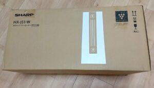 プラズマクラスター セラミックファンヒーターHX-JS1-W 箱