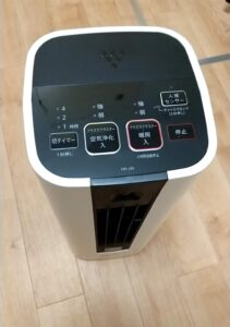プラズマクラスター セラミックファンヒーターHX-JS1-W デザイン