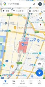 Googleマップ表示切り替え 起動