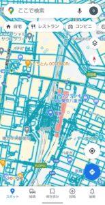 Googleマップ表示切り替え ストリートビュー