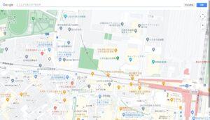 Googleマップ印刷PDF 印刷画面