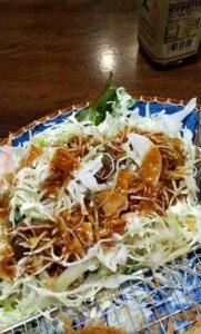 かつ吉渋谷店 ロースかつ盛り合わせ定食 柚子醤油