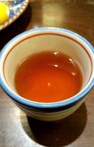 かつ吉渋谷店 ロースかつ盛り合わせ定食 温かいお茶