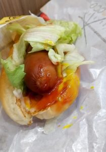 バーガーキング キングドッグセット 食べた感想