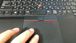 Windows10タッチパッド操作