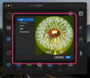 Apple ID macで編集 画面