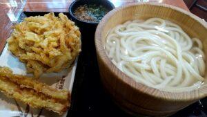 丸亀製麺 釜揚げうどんと天ぷら 注文