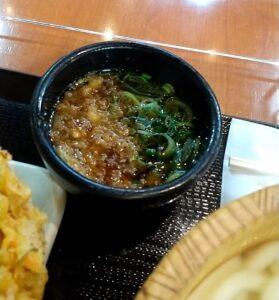 丸亀製麺 釜揚げうどんと天ぷら うどんつゆ