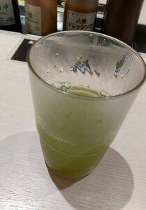 松のや味噌ロース定食 お茶