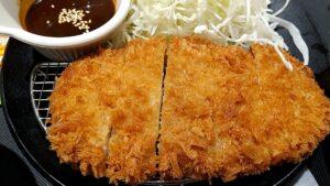 松のや味噌ロース定食 ロース