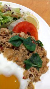 ジョナサン タイ風ガパオライス&グリーンカレー ガパオひき肉