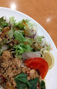 ジョナサン タイ風ガパオライス&グリーンカレー サラダ