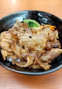 ヤマキ商店 カルビ焼肉丼+肉うどん 炭火