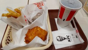 KFCチキンフィレサンドボックス メニュー
