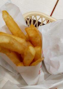 KFCチキンフィレサンドボックス ポテト