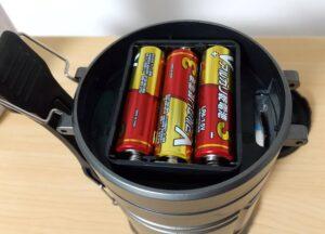 キャンドゥの2WAYランタンライト 電池セット