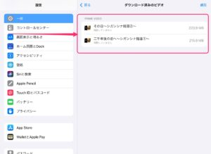 iPad Amazon Prime Video動画ダウンロード 動画一覧