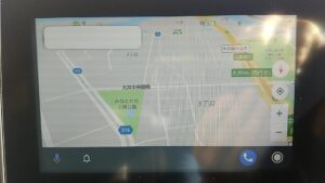 Android Auto アプリ 音声入力