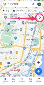 Googleマップ交通状況 アイコン