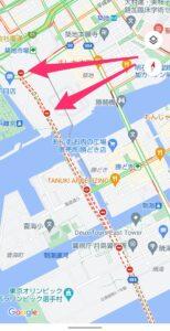 Googleマップ交通状況 道路の閉鎖