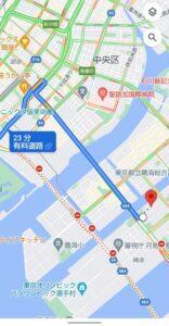 Googleマップ交通状況 通行止め避けて