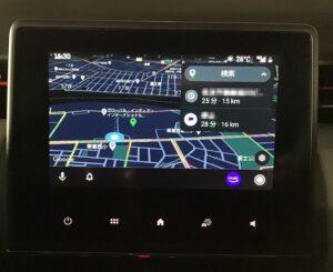 Android Auto Googleマップ 開く