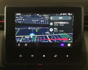 Android Auto Googleマップ 設定